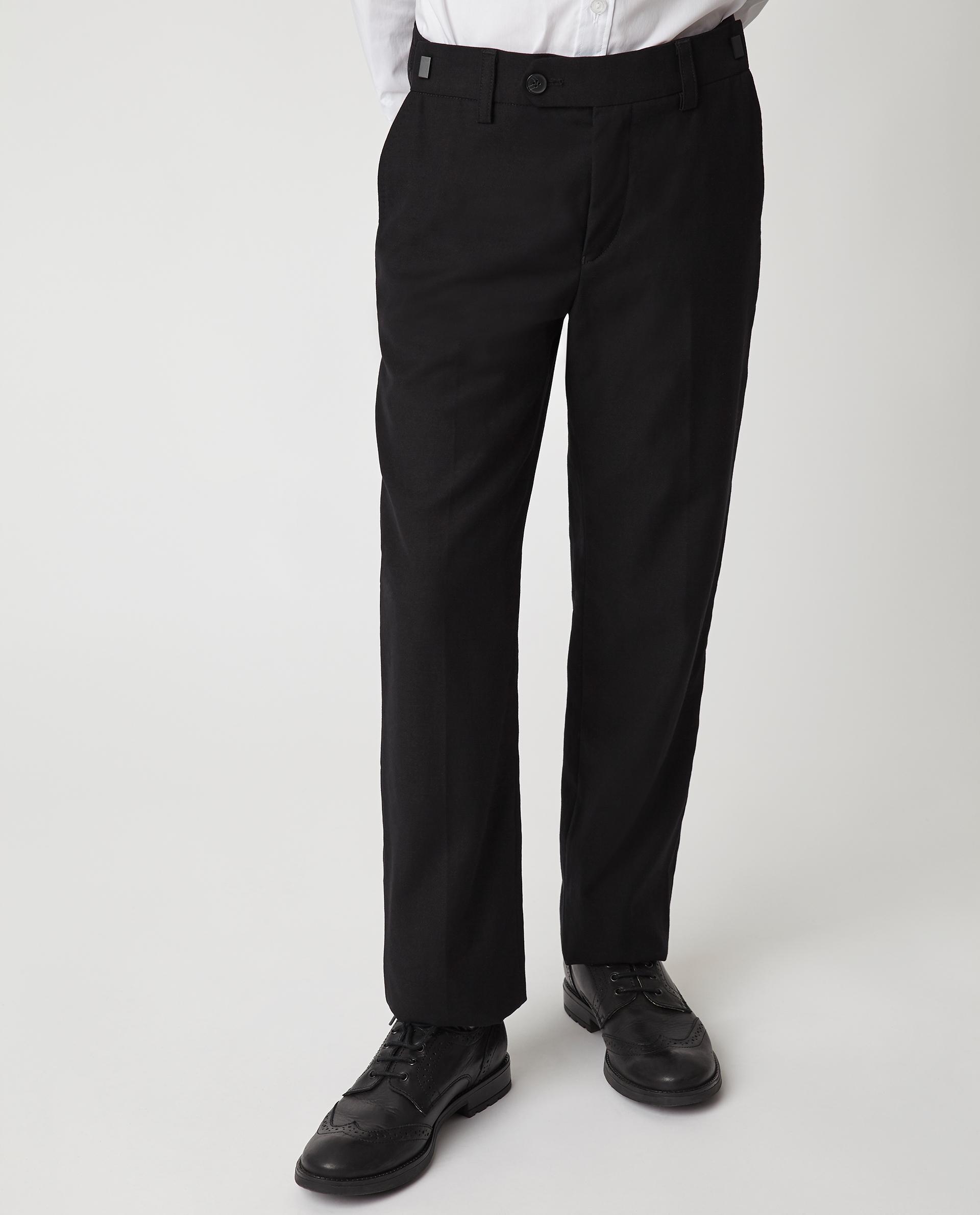 Купить 220GSBC6301, Черные брюки Gulliver, черный, 140, Мужской, Демисезон, ШКОЛЬНАЯ ФОРМА 2020-2021 (shop: GulliverMarket Gulliver Market)