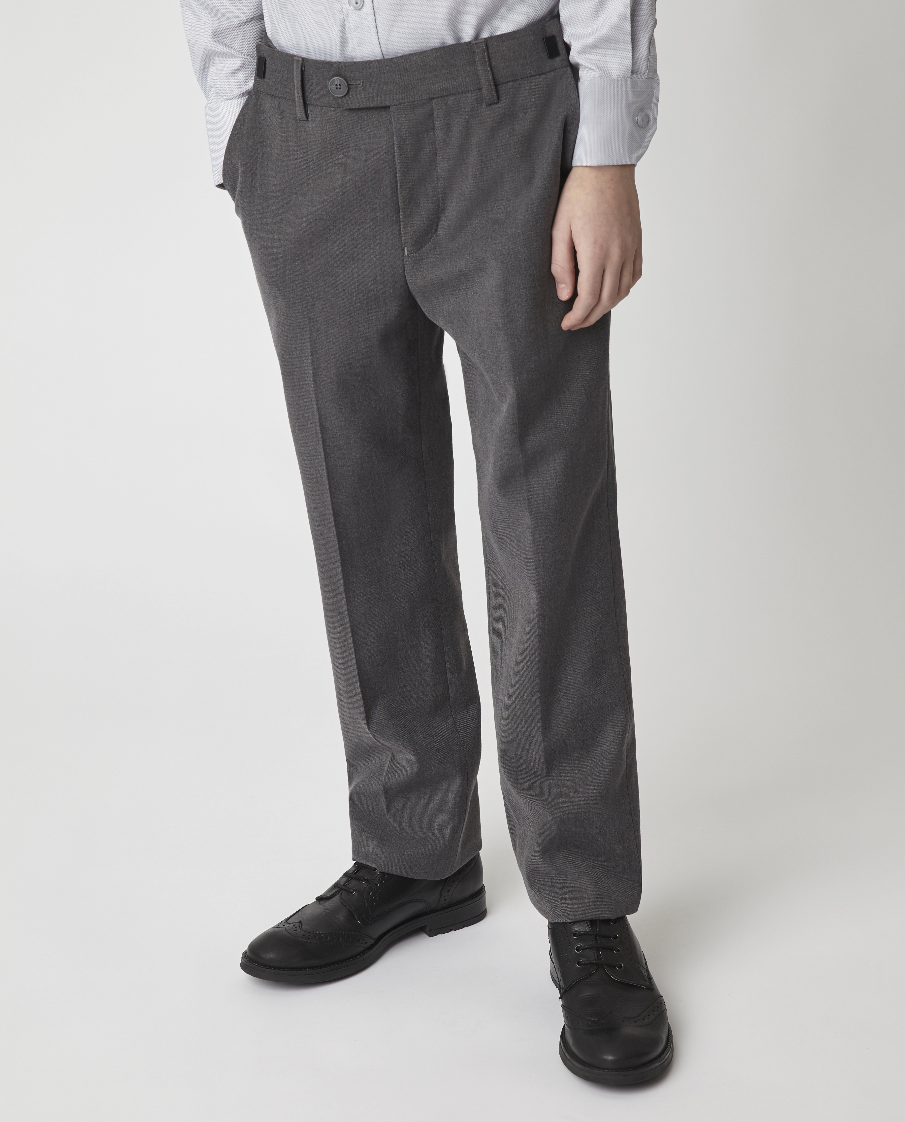 Купить 220GSBC6303, Серые брюки Gulliver, серый, 170, Мужской, Демисезон, ШКОЛЬНАЯ ФОРМА 2020-2021 (shop: GulliverMarket Gulliver Market)