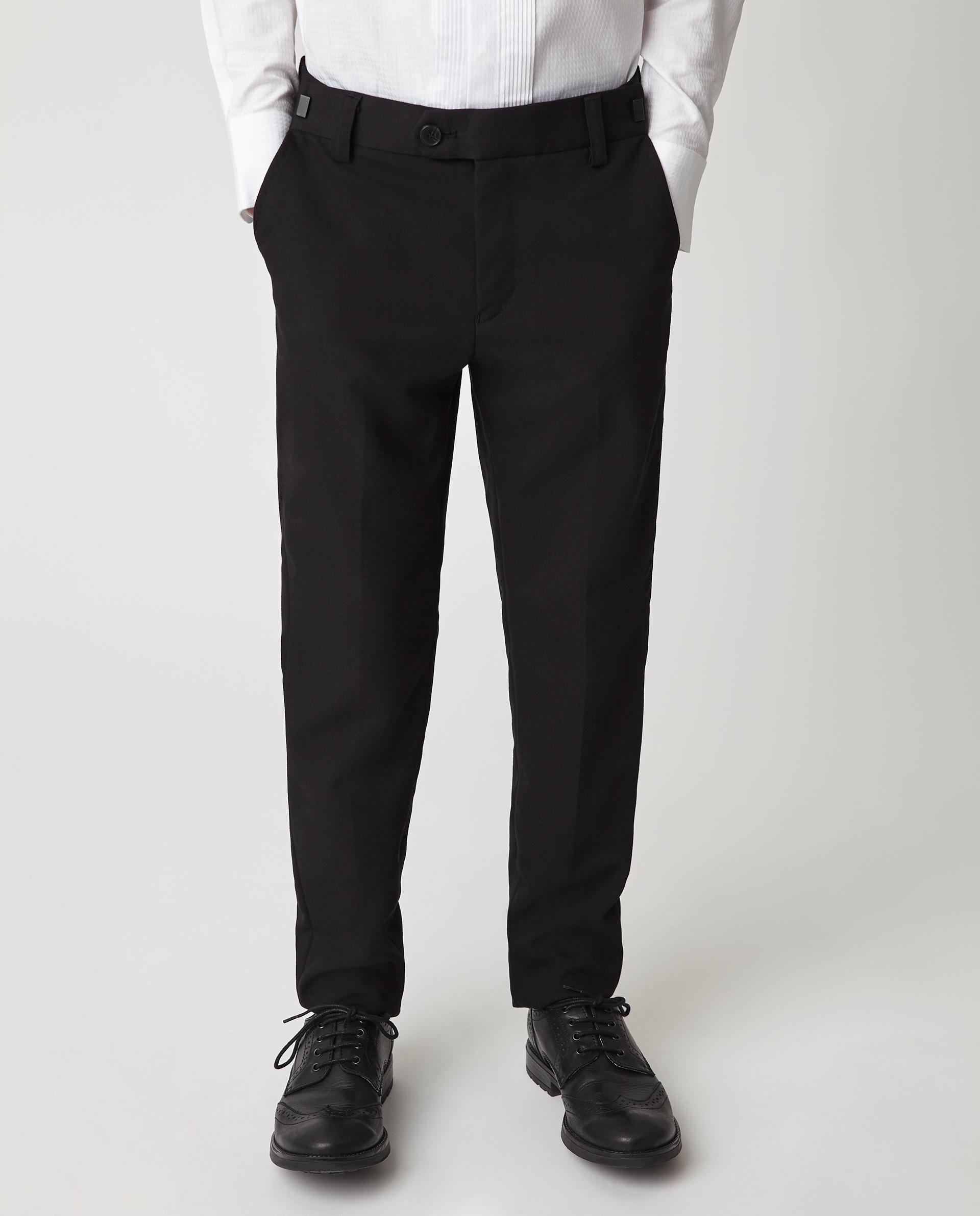 Купить 220GSBC6304, Черные узкие брюки Gulliver, черный, 140, Мужской, Демисезон, ШКОЛЬНАЯ ФОРМА 2020-2021 (shop: GulliverMarket Gulliver Market)