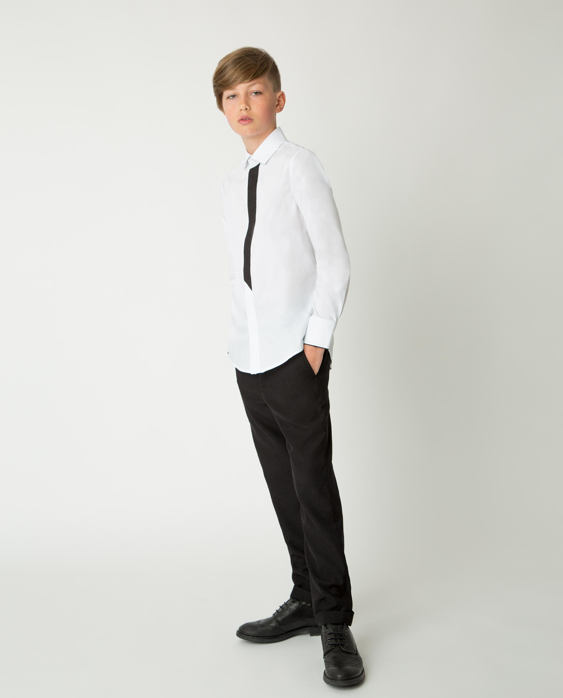 Купить 220GSBC6307, Черные брюки Gulliver, черный, 140, Мужской, Демисезон, ШКОЛЬНАЯ ФОРМА 2020-2021 (shop: GulliverMarket Gulliver Market)