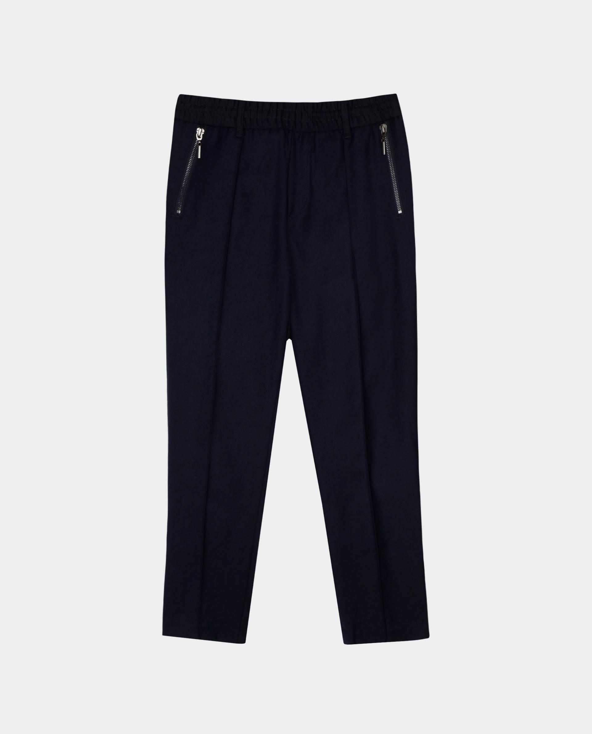 Купить 220GSBC6308, Синие брюки Gulliver, синий, 128, Мужской, Демисезон, ШКОЛЬНАЯ ФОРМА 2020-2021 (shop: GulliverMarket Gulliver Market)