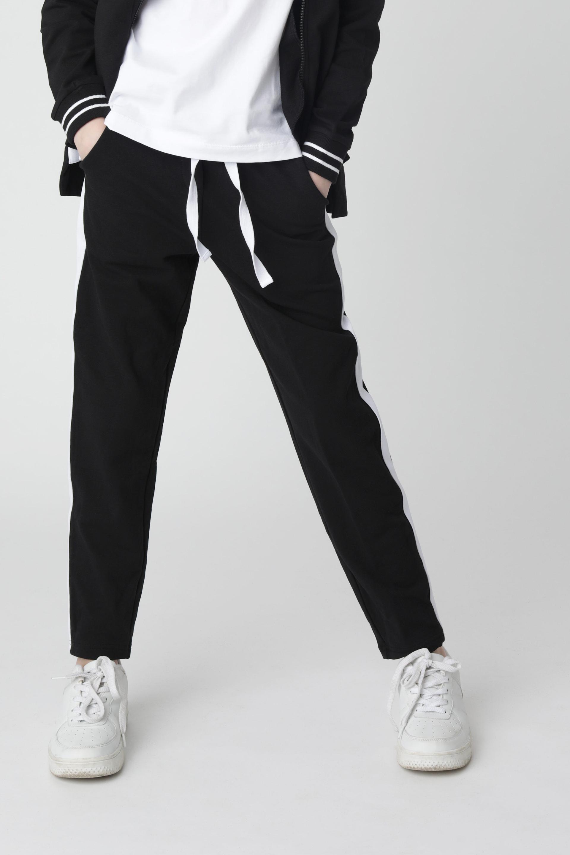 Купить 220GSGC5801, Черные брюки из футера Gulliver, черный, 140, Женский, Демисезон, ШКОЛЬНАЯ ФОРМА 2020-2021 (shop: GulliverMarket Gulliver Market)