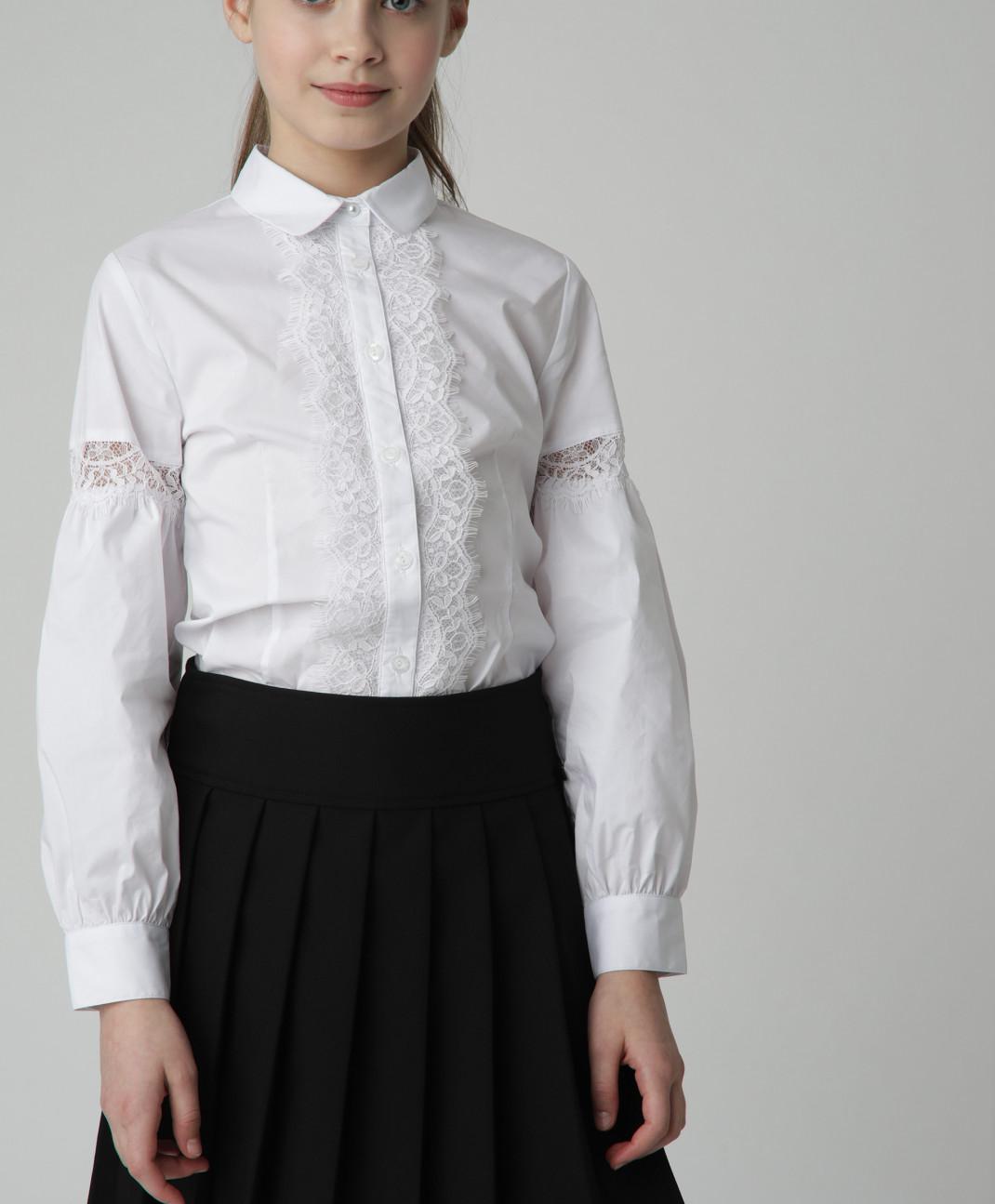 Gulliver Черная юбка в складку Gulliver юбка в складку