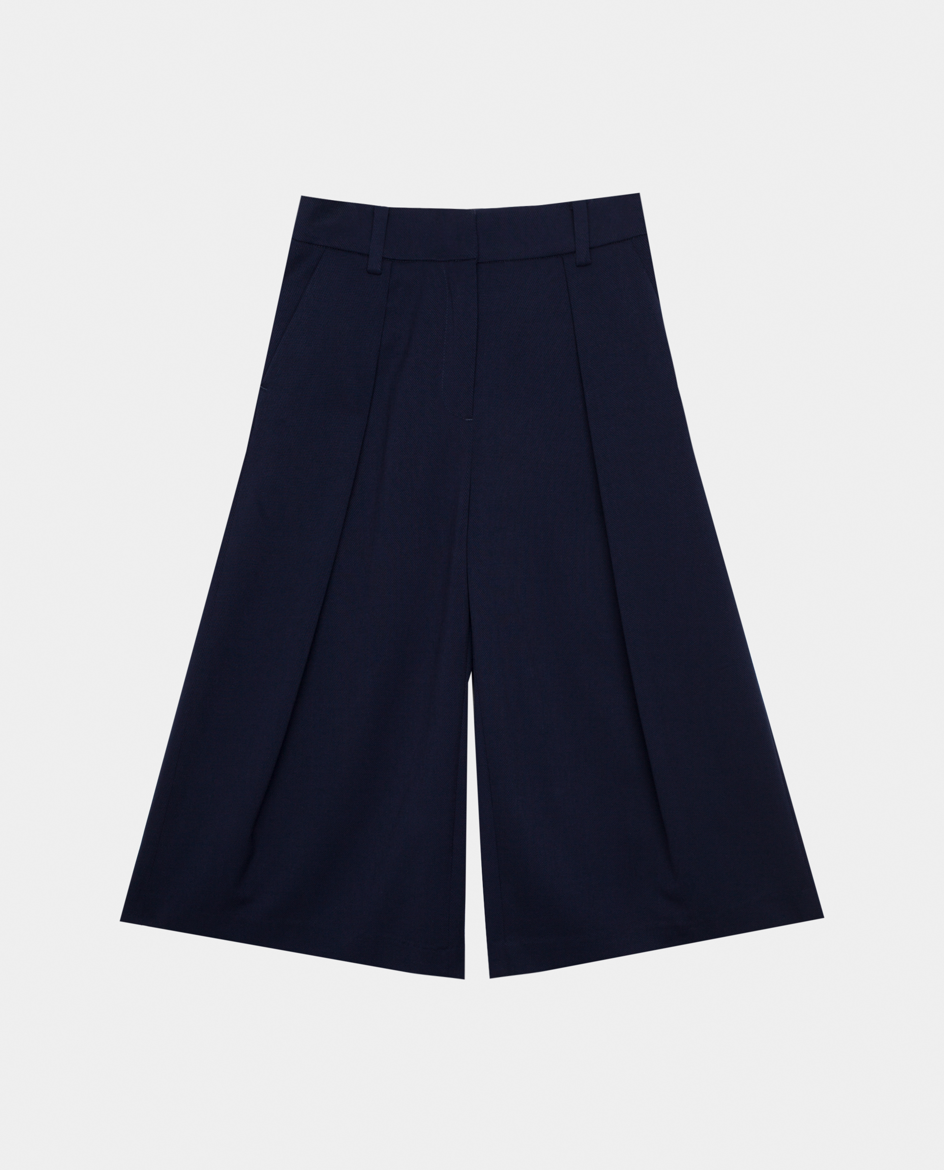 Купить 220GSGC6303, Синие брюки Gulliver, синий, 146, Женский, Демисезон, ШКОЛЬНАЯ ФОРМА 2020-2021 (shop: GulliverMarket Gulliver Market)