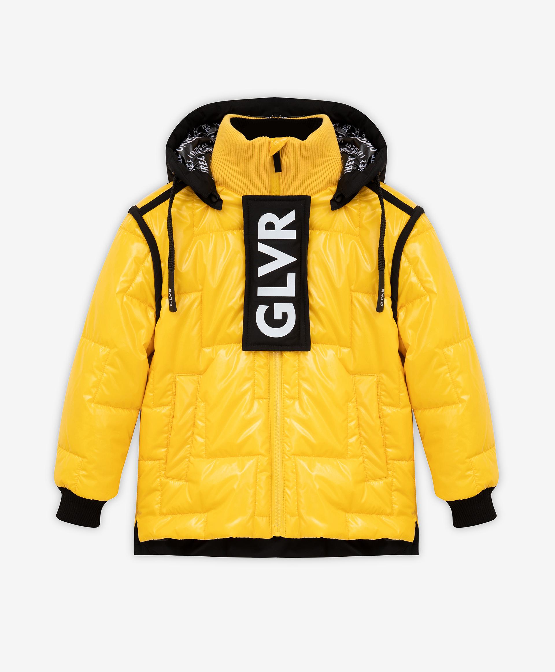 Купить 22105BMC4102, Куртка утепленная желтая Gulliver, желтый, 128, Полиамид, Мужской, Демисезон, ОСЕНЬ/ЗИМА 2021-2022 (shop: GulliverMarket Gulliver Market)