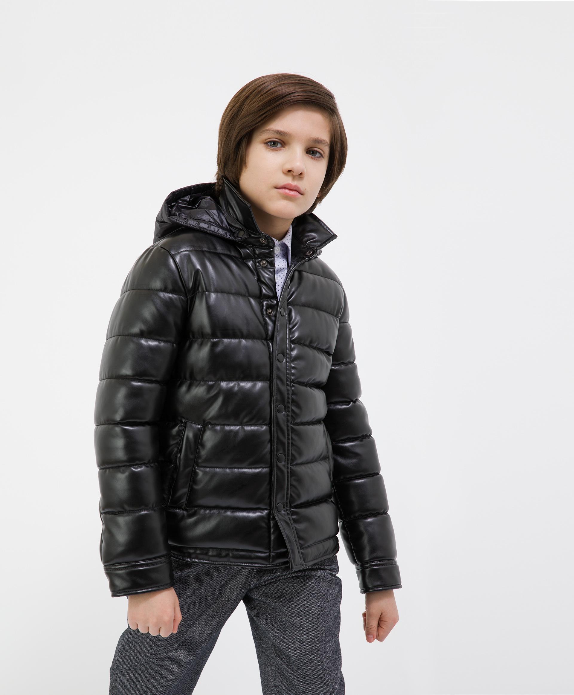 Купить 221GSBC4101, Куртка черная демисезонная Gulliver, 158, Мужской, ШКОЛЬНАЯ ФОРМА 2021-2022 (shop: GulliverMarket Gulliver Market)