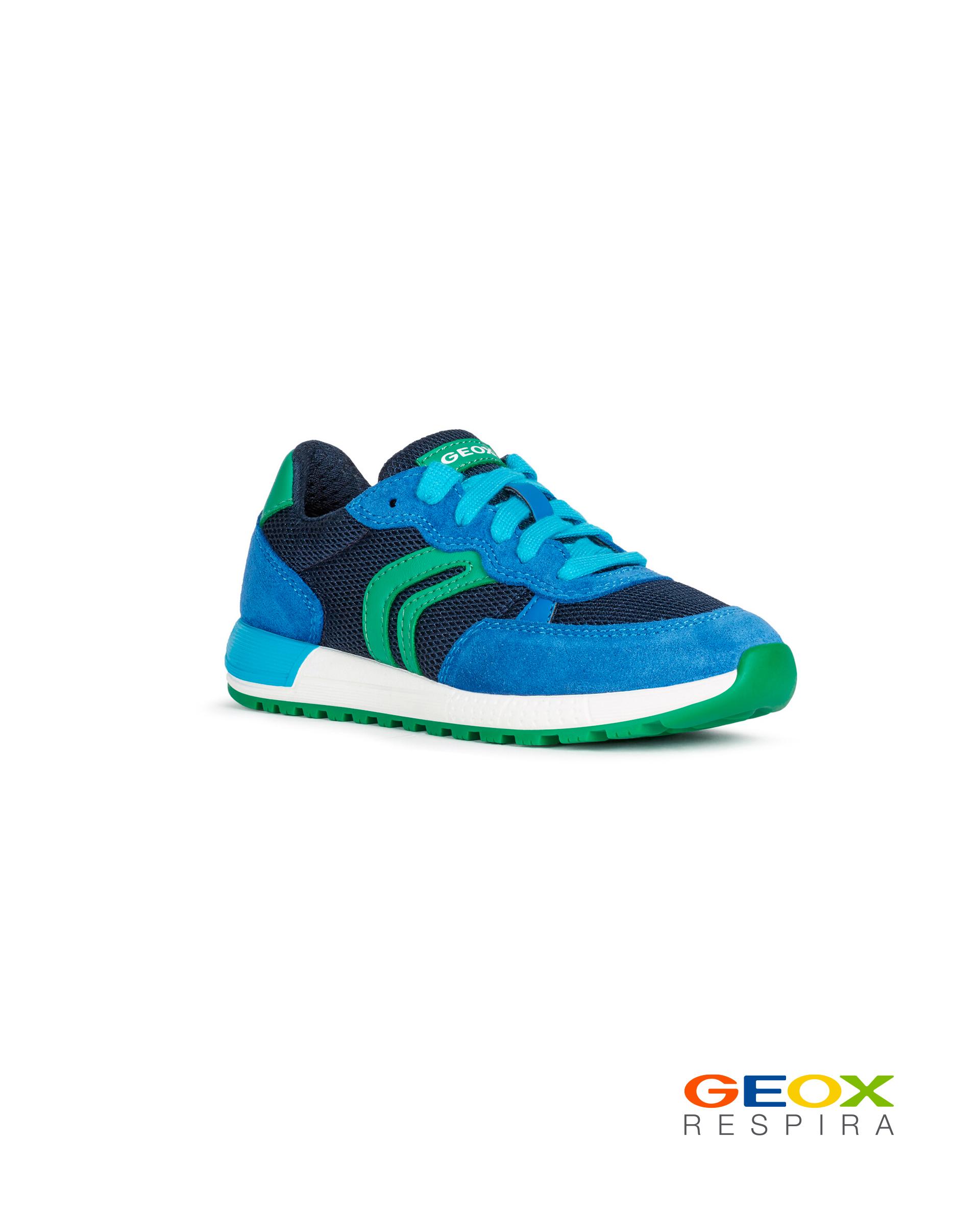 Купить J949ED01422C4165, Синие кроссовки Geox для девочки, синий, 33, Женский, ВЕСНА/ЛЕТО 2020 (shop: GulliverMarket Gulliver Market)